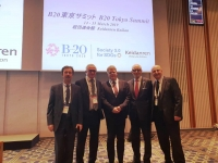 Russian Delegation Headed by RSPP President Alexander Shokhin Attends B20 Summit in Japan